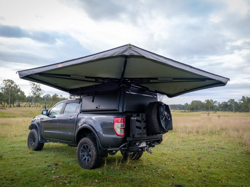 Protector Series freestanding 270 awning